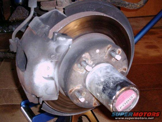 Front Brakes On 95 F150 4wd F150online Forums