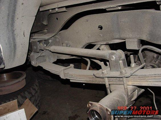 Easiest Bolt On Traction Bars For  F Ford Truck Enthusiasts Forums