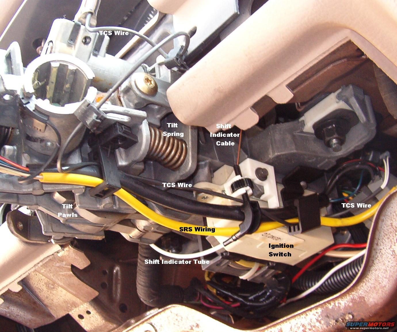 Wireroute on 2000 Ford Crown Victoria Transmission