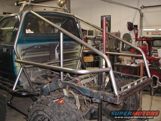 1989 Toyota Tacoma Tube Bed Project Picture Supermotors Net