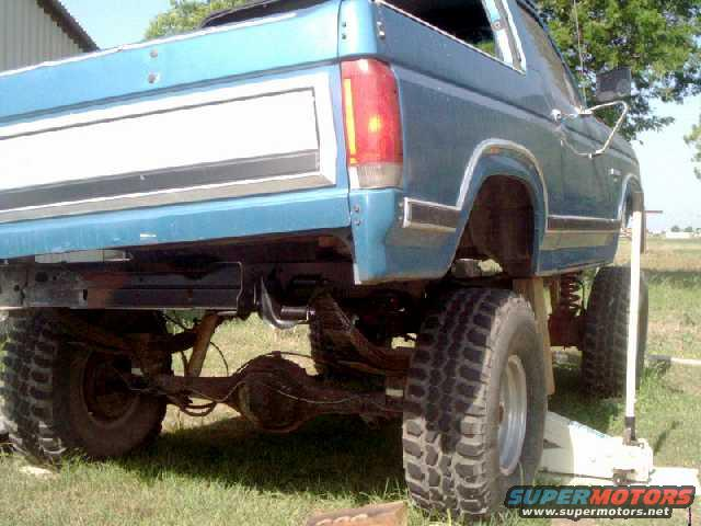 Spare Tire Carrier Removal Ford Bronco Forum