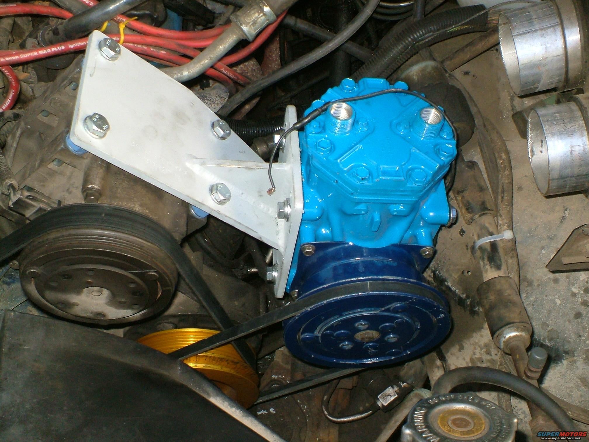 1989 Ford Bronco York Compressor And Accessories Install