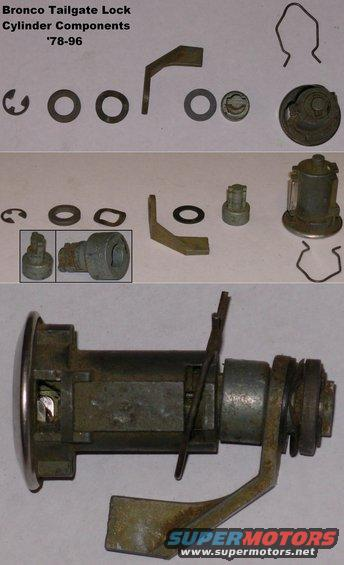 tailgatelockparts alt= 1983 ford bronco spare parts pictures, videos, and sounds 1996 bronco tailgate wiring diagram at crackthecode.co
