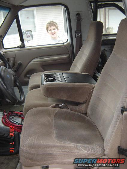 Center console, Jump Seat replacement - Ford Bronco Forum