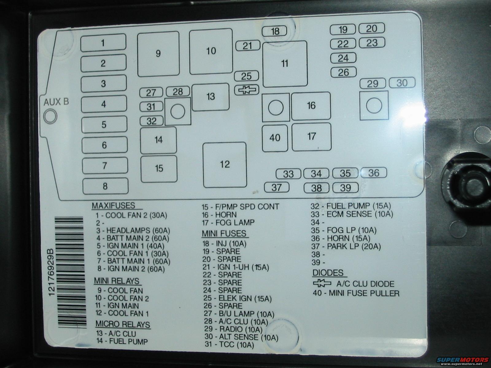 2007 Nissan Frontier Fuse Box Diagram