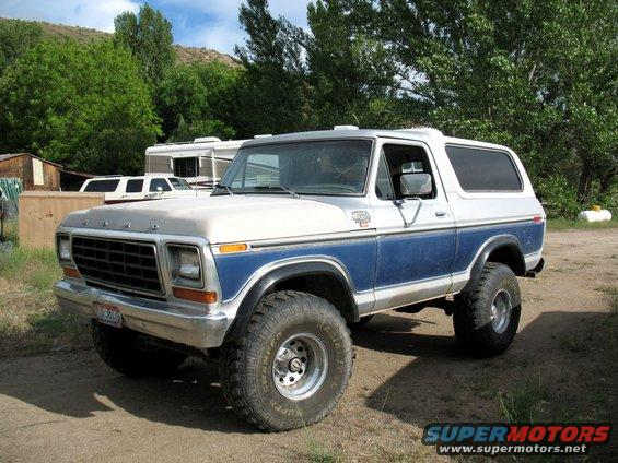 1979 ford bronco for sale california autos post. Black Bedroom Furniture Sets. Home Design Ideas