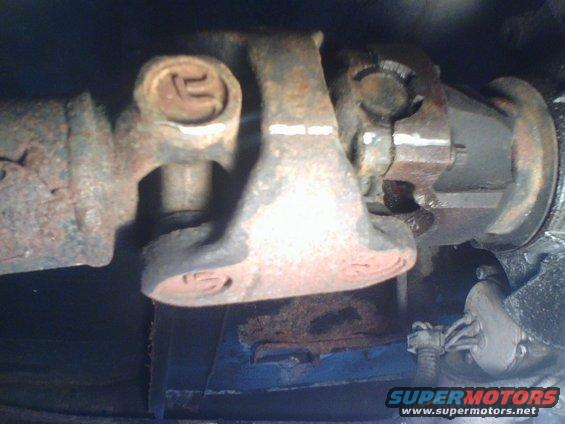 Driveshaft u joint replacement ford bronco forum do the same for the dual u joint end of the drive shaft sciox Image collections