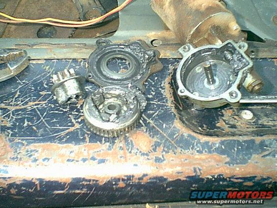1983 Ford Bronco Rear Window Motor Repair Picture