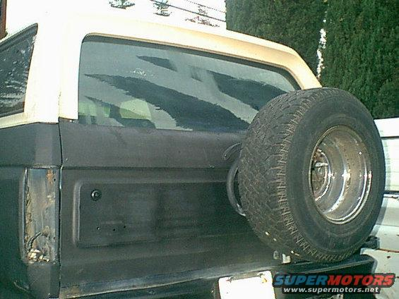 1983 ford bronco rear window motor repair picture for How much to fix car window motor