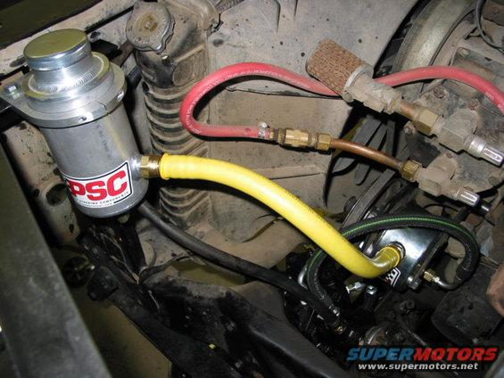 Saginaw Power Steering Pump >> Hydro assist finished - Ford Bronco Forum