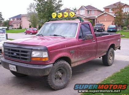 F150 Roll Bar And Lights