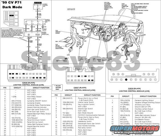 1999 ford crown victoria tech diagrams picture