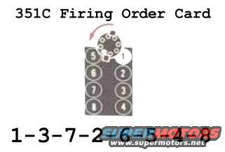 Cylinder number 1 on 351C - Ford Truck Enthusiasts Forums