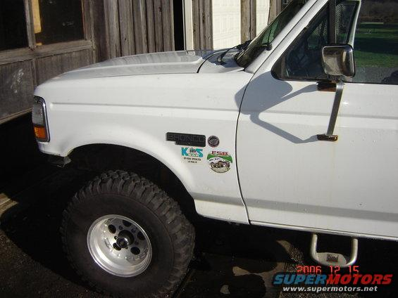 Ford F250 Tow Package >> 92-96 swing out mirror vs standard door mount mirror ?'s - Ford Bronco Forum