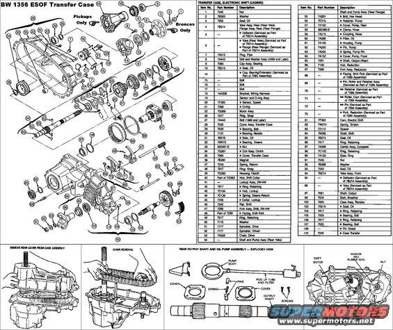 1983 Ford Bronco Diagrams picture | SuperMotors.net
