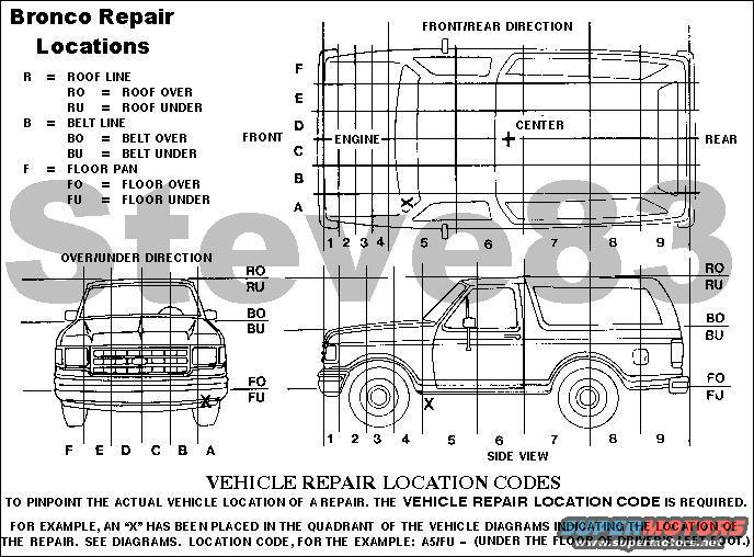 1983 ford bronco engine diagram 1983 Ford Truck 1992 Ford Ranger Parts Catalog