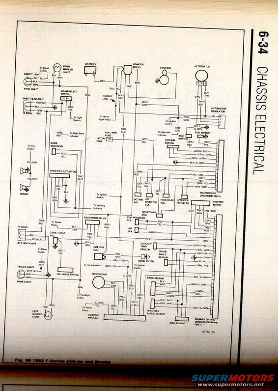 1982 bronco wiring diagram 1982 bronco wire diagram