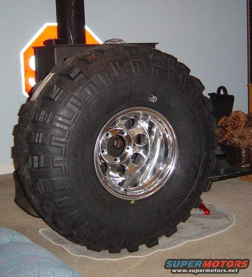 do these tires look ok on these rims ford bronco forum. Black Bedroom Furniture Sets. Home Design Ideas