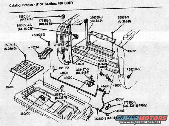 1986 ford bronco tailgate pictures  videos  and sounds