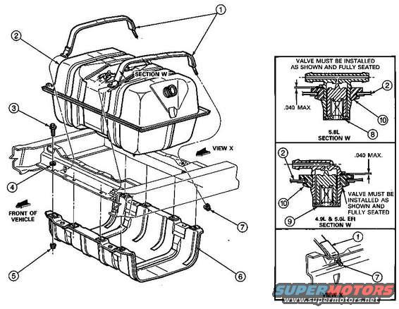 1986 ford bronco fuel system pictures  videos  and sounds