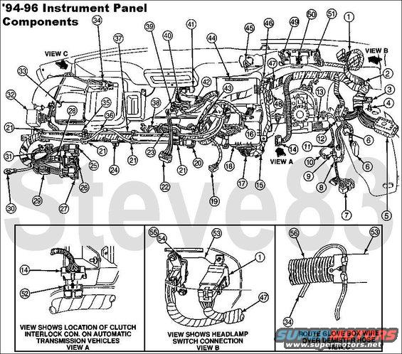1995 ford bronco wiring diagram keyless wiring diagrams 1995 ford bronco mpg jump - ford truck enthusiasts forums #11