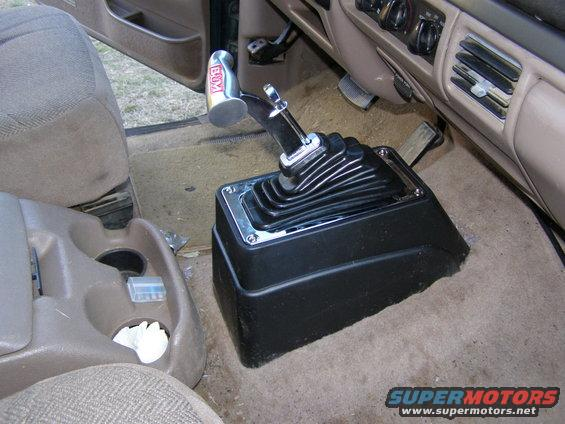 C6 Floor Shifter - Ford Bronco Forum