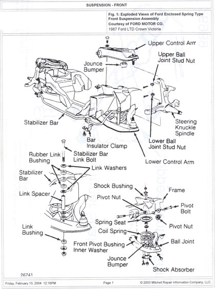 1985 ford crown victoria ltd suspension pictures videos and sounds rh supermotors net