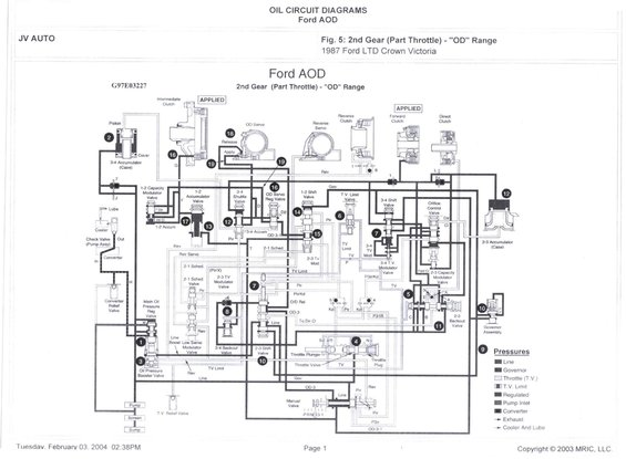 ford transmission exploded view html