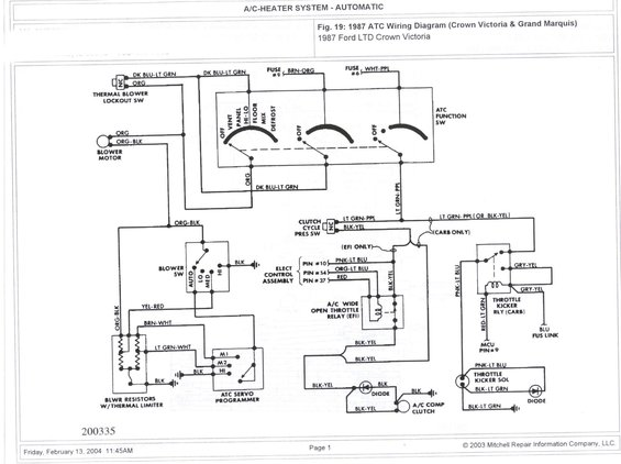1985 ford ltd wiring diagram  1985  get free image about 06 Crown Vic Fuse Box Diagram 03 Crown Vic Fuse Diagram