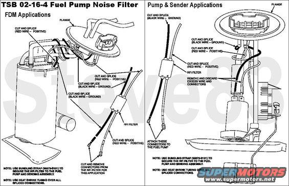 2001 taurus fuel pump problems