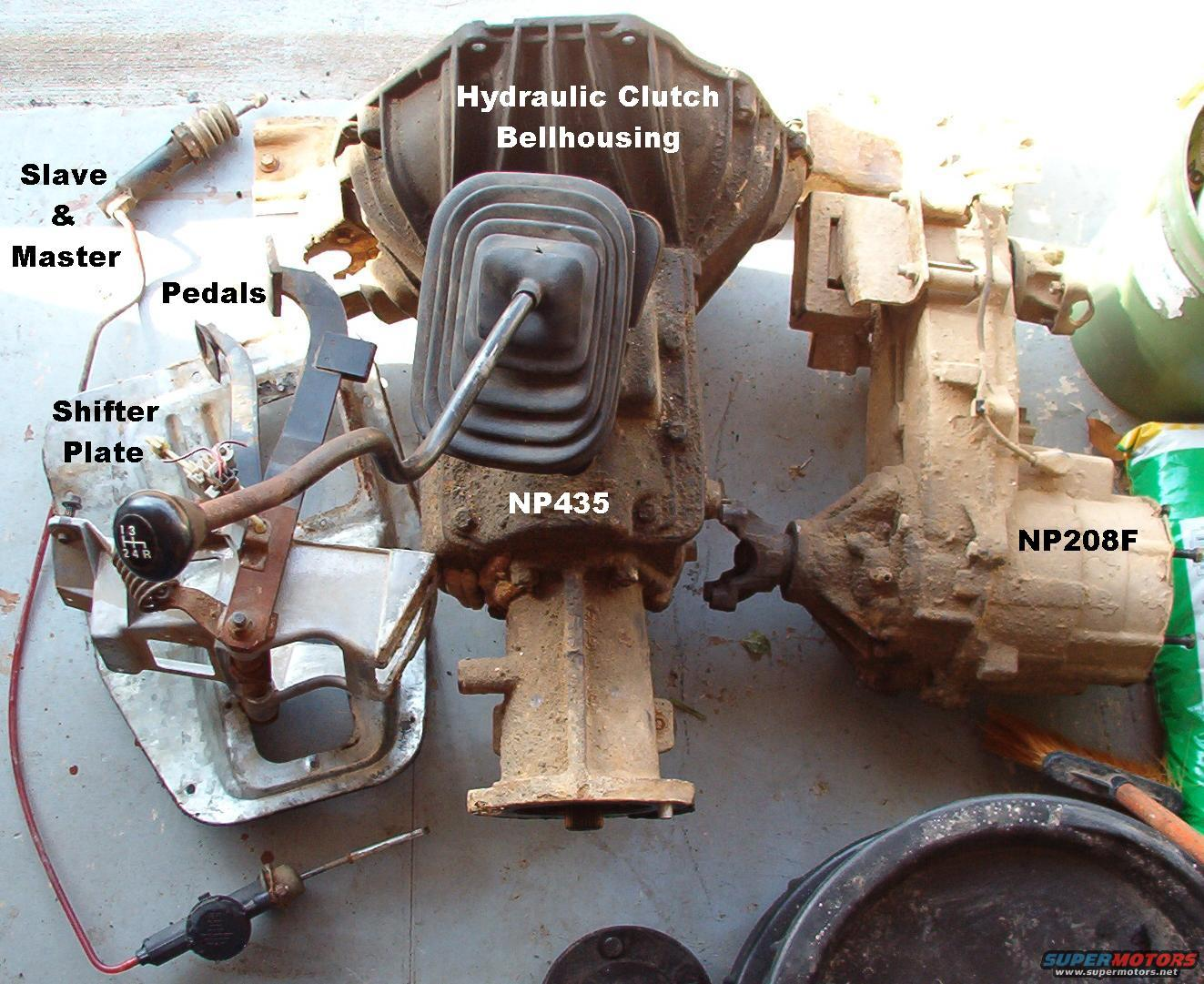 1983 Ford Bronco Hydraulic Clutch Picture Supermotors Net