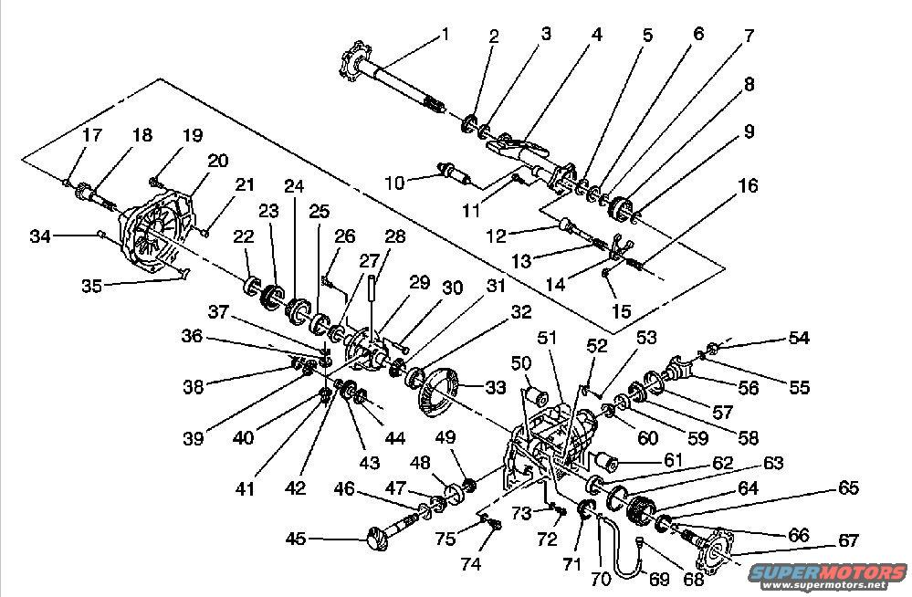 chevy front axle diagram