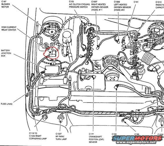 57463 2 on 1997 mercury cougar fuse box diagram