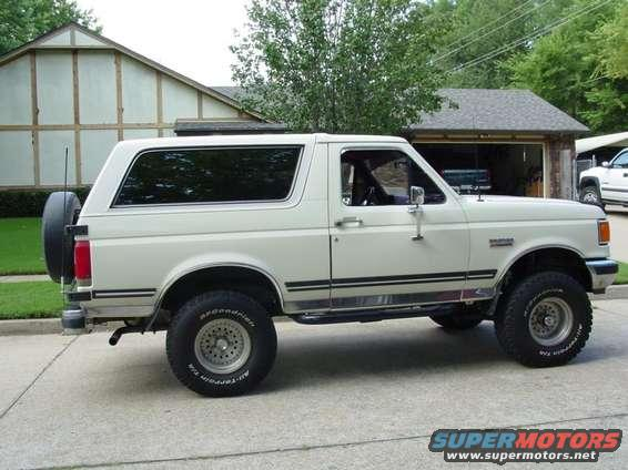 1987 Ford Bronco 87 Bronco picture | SuperMotors.net
