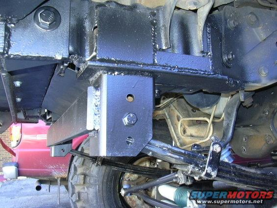 1995 Ford Bronco Spindle : Ford bronco solid axle swap picture supermotors