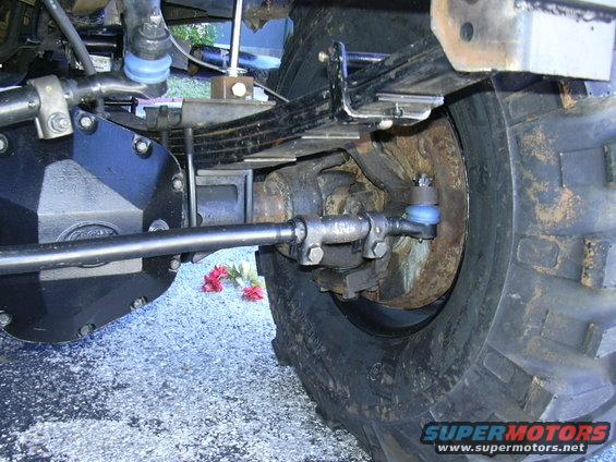 1995 Ford Bronco Spindle : Ford bronco solid axle conversion