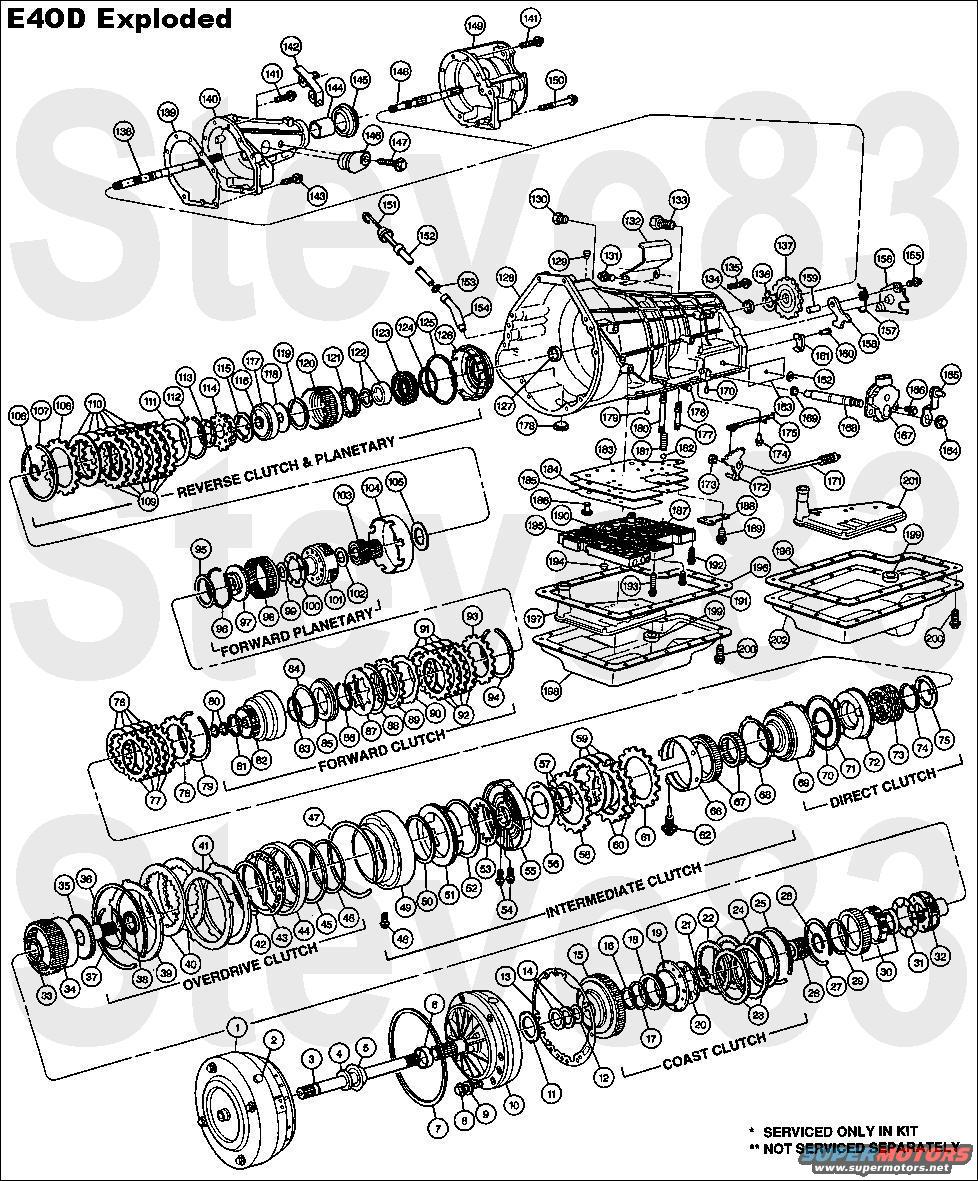 e4od_exploded 1983 ford bronco diagrams picture supermotors net e4od wiring harness diagram at aneh.co