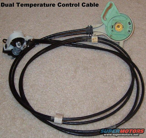 Push Pull Control Cable Design : Ford bronco spare parts picture supermotors