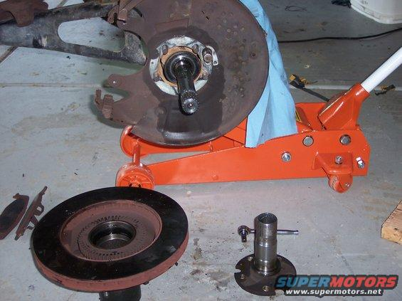 Ford Bronco Replacement Spindles : Ford bronco wheel bearing and spindle write
