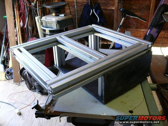Field Full Size Battery Box : Battery box and wiring upgrade ford bronco forum