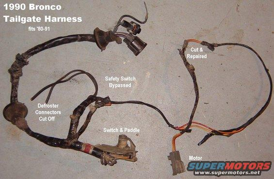 ford bronco wiring harness wiring diagram and hernes dash wiring harness ford bronco forum 91 ford bronco wiring diagram diagrams source