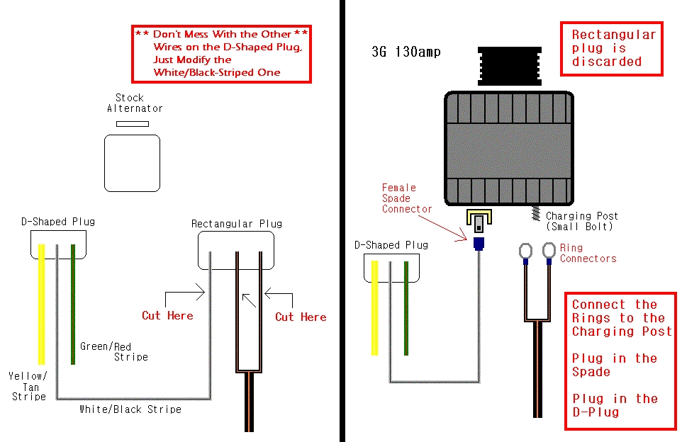 3g installation altenator question sspmustang org message forums mustang 3g alternator wiring diagram at gsmportal.co