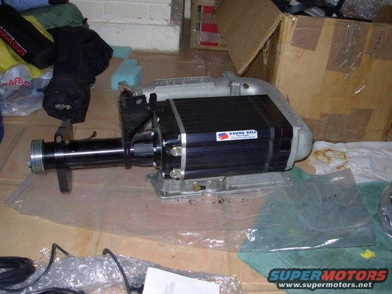 Blower on 1994 Ford Lightning Supercharger