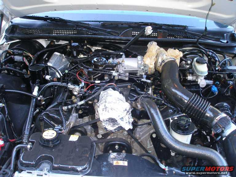 2001 Ford Crown Victoria November Engine Cleaining