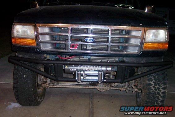 Easy To Build Tube Bumper Amp Cheap Ford Bronco Forum