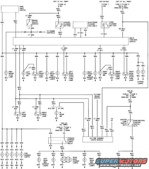 1996 Ford Bronco Ignition Switch Wiring Diagram: 1988 Ford Bronco Tech Picture
