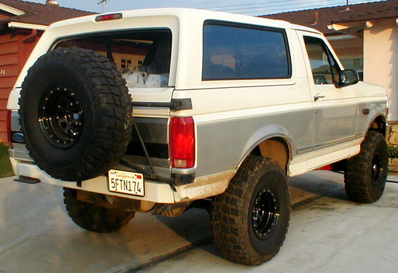 Square Tube Rear Bumpers Gofastbroncos Com