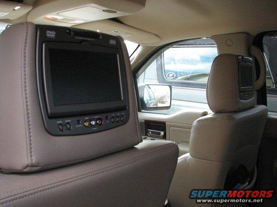 F1headrest dvd player
