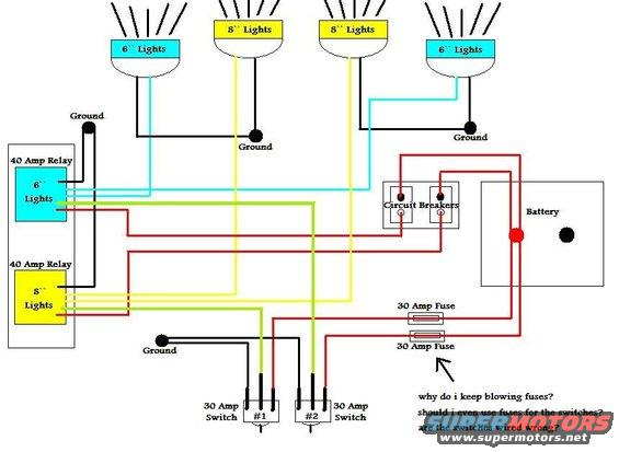 auxiliary lighting wiring diagram lighting free printable wiring diagrams