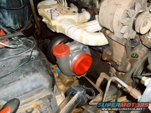 Turbo Placememt And Of Turbo